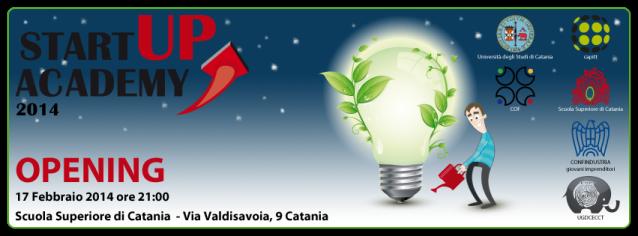 startupacademy - opening banner