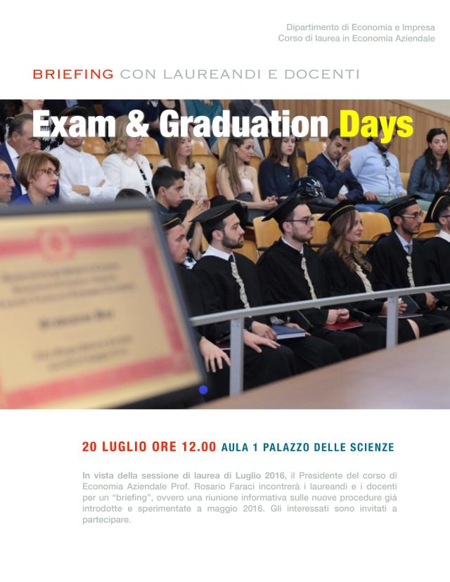 Exam&GraduationDays